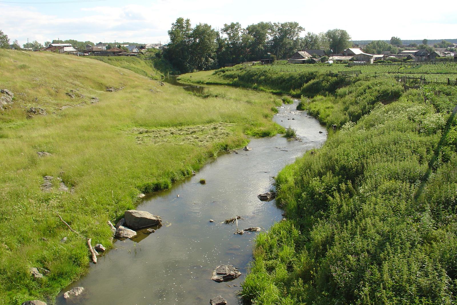 ело Покровское, река Камышенка