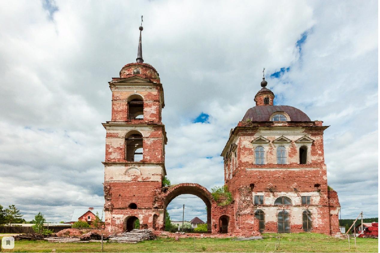 Ильинский храм, село Смолинское