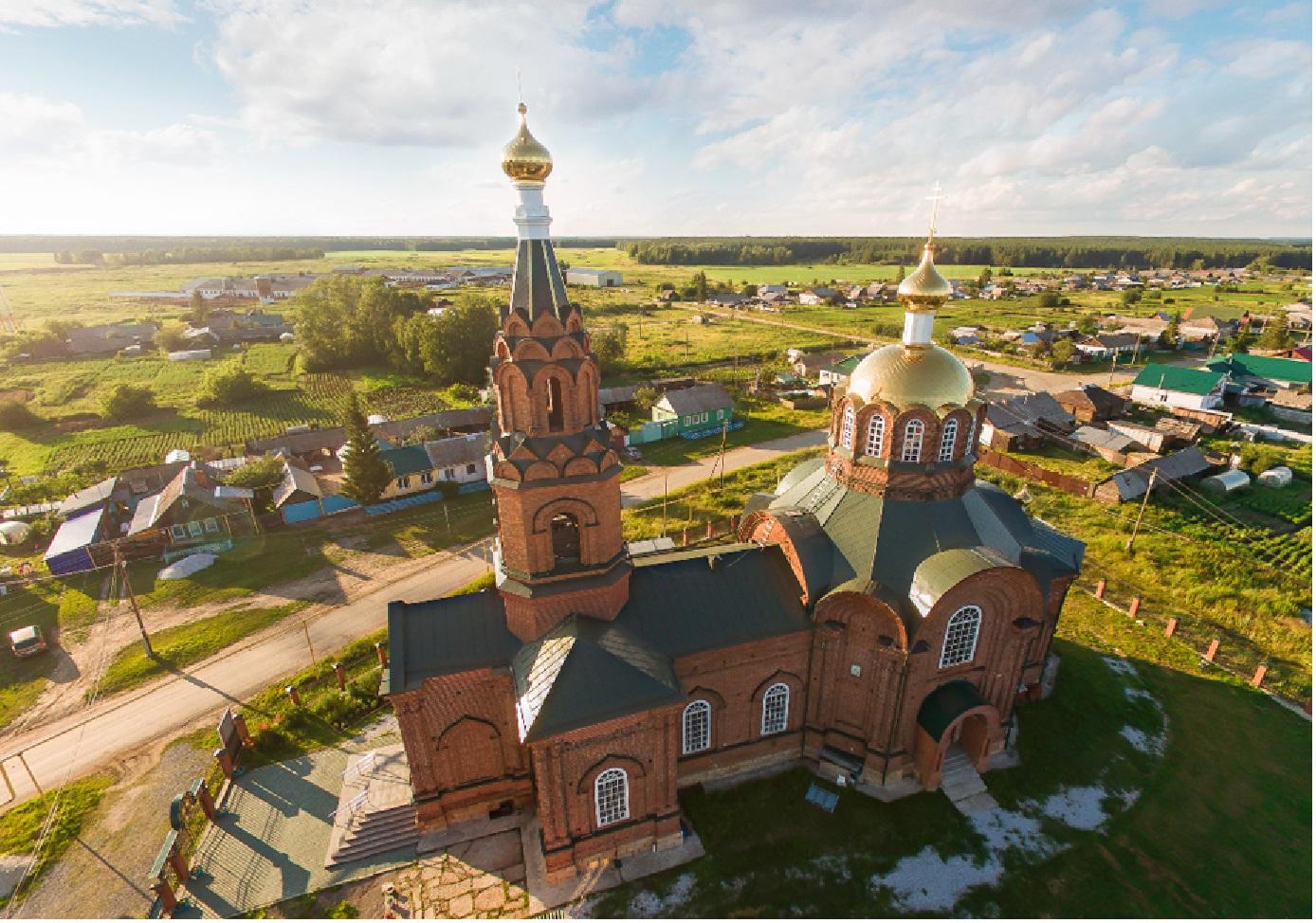Рождественская церковь в селе Сосновском