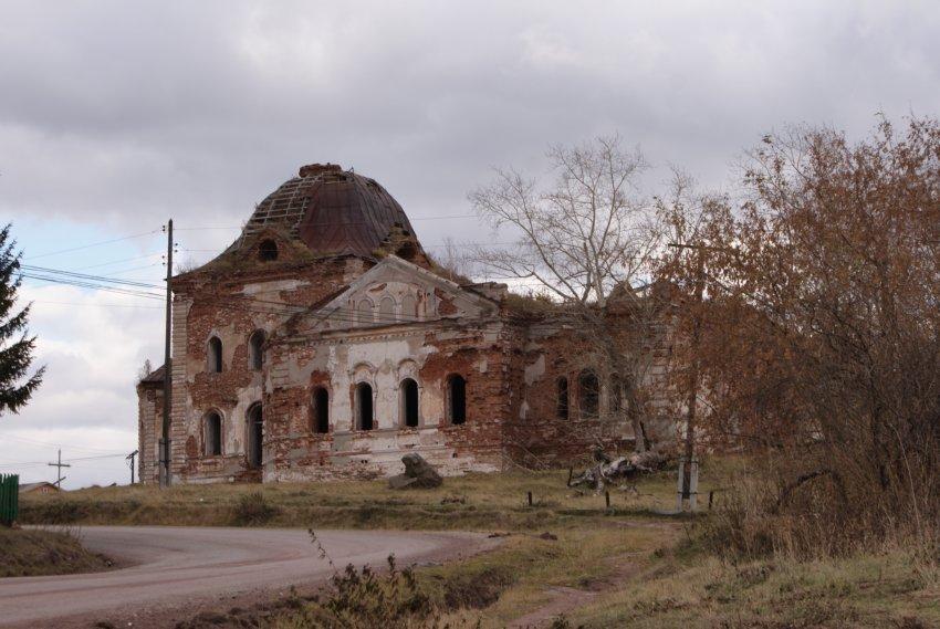 Вознесенская церковь Багаряк.