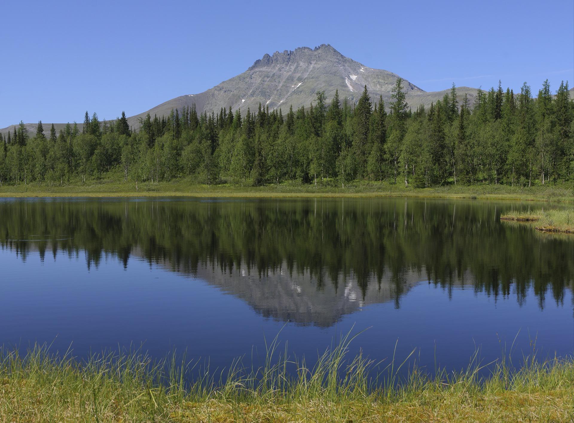Гора Манарага на Урале