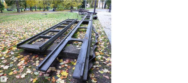 Остатки железной дороги в Петрозаводске