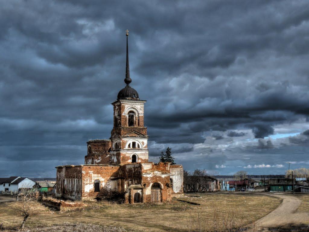 Ильинский храм в селе Огнево