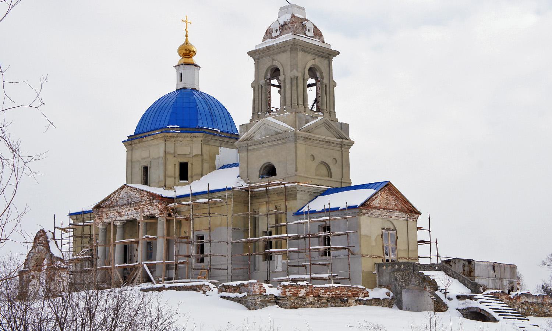 Покровский храм в селе Куяш
