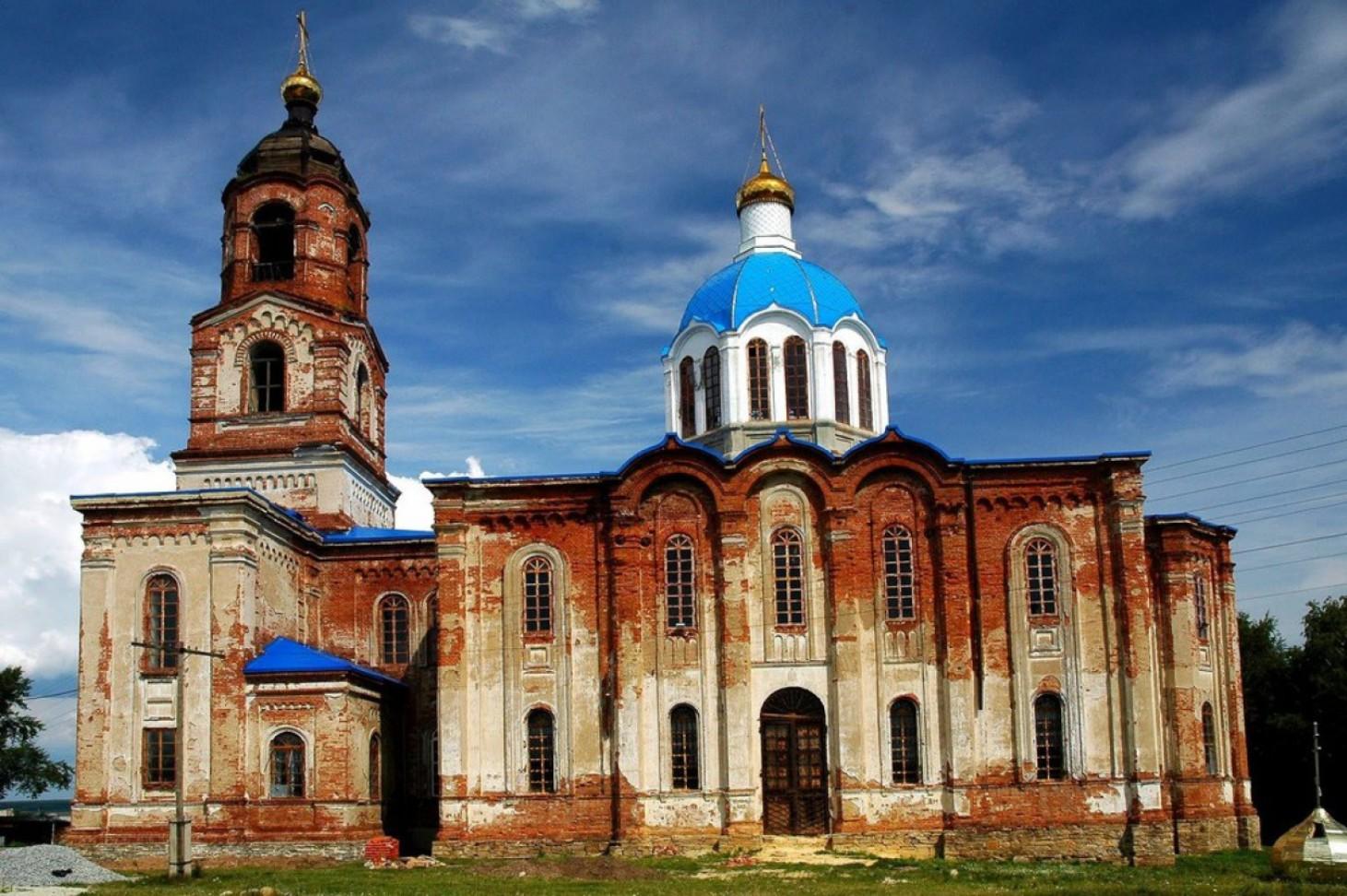Село Губернское. Церковь Тихвинской иконы Божьей Матери