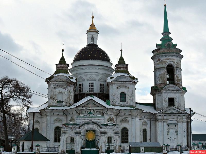Никольская церковь в селе Быньги