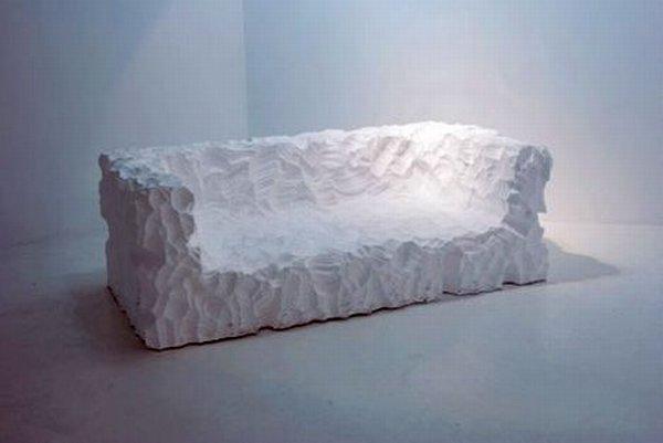 Мебель из пенопласта своими руками