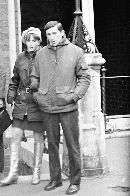 1970 год. Около Домского собора в Риге.