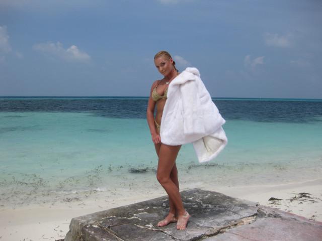 Анастасия Волочкова отдыхает на Мальдивах
