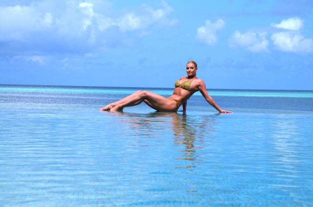 Анастасия Волочкова в восторге от мальдивских перцев