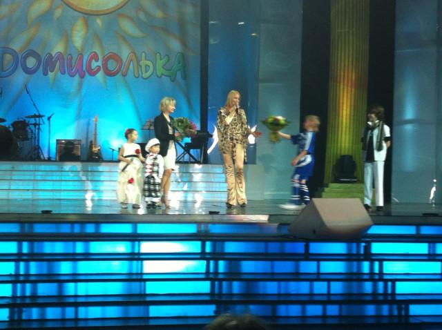 Дочь Анастасии Волочковой уже поет на большой сцене