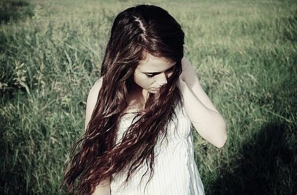 фото девушек брюнеток с длинными волосами