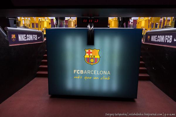 Испания. Барселона. Стадион Камп Ноу. - путешествия и прочее Стадион Барселоны Вместимость
