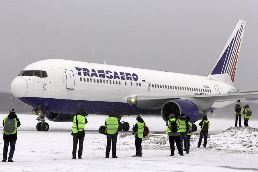 EI-CXZ Transaero Airlines Boeing 767-216(ER)