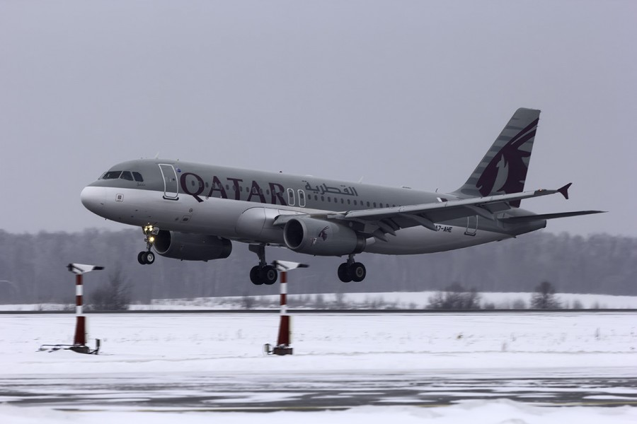 A7-AHE Qatar Airways Airbus A320-232