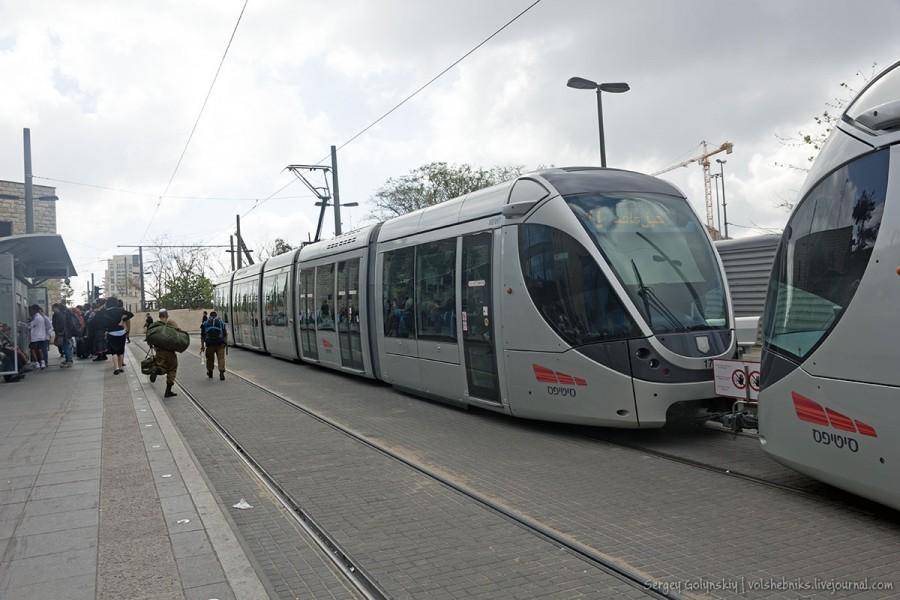 Иерусалимский скоростной трамвай