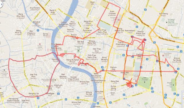Бангкок день 1
