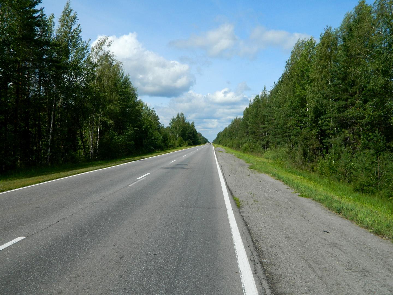 Дорога на Новую Ладогу