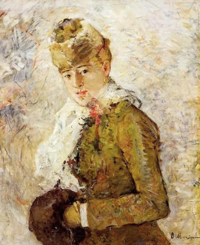 Зима Берта Моризо 58,5 × 73,5 см , 1880 г.
