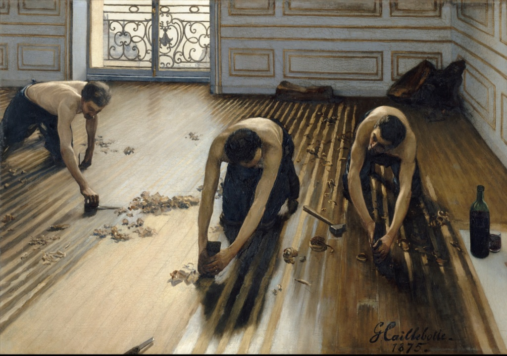 Гюстав Кайботт (1875) Музей Орсе (Париж)