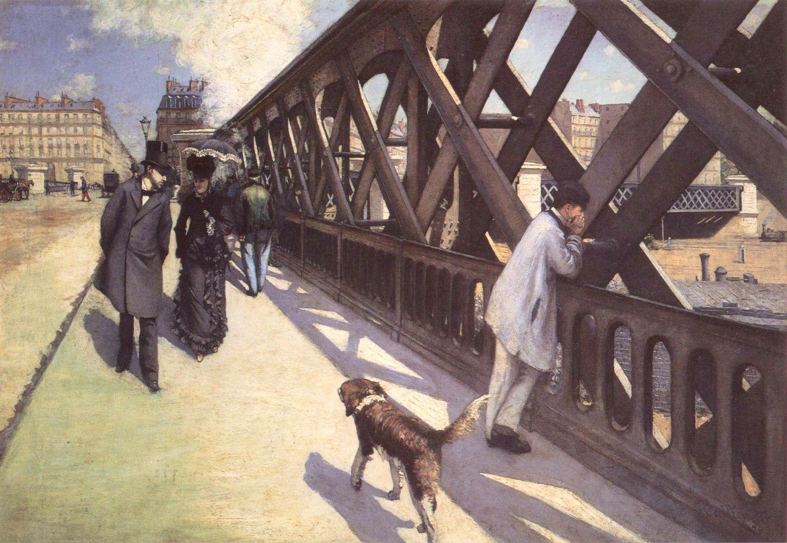 Гюстав Кайботт Мост Европы, (1876 124.7 x 180.6 см), Музей современного искусства Пти-Пале, Женева