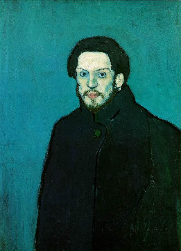 Пабло Пикассо Период: 1889-1907 – 1901 «Autoportrait3» France, Paris, Musee National Picasso (Музей Пикассо в Париже)
