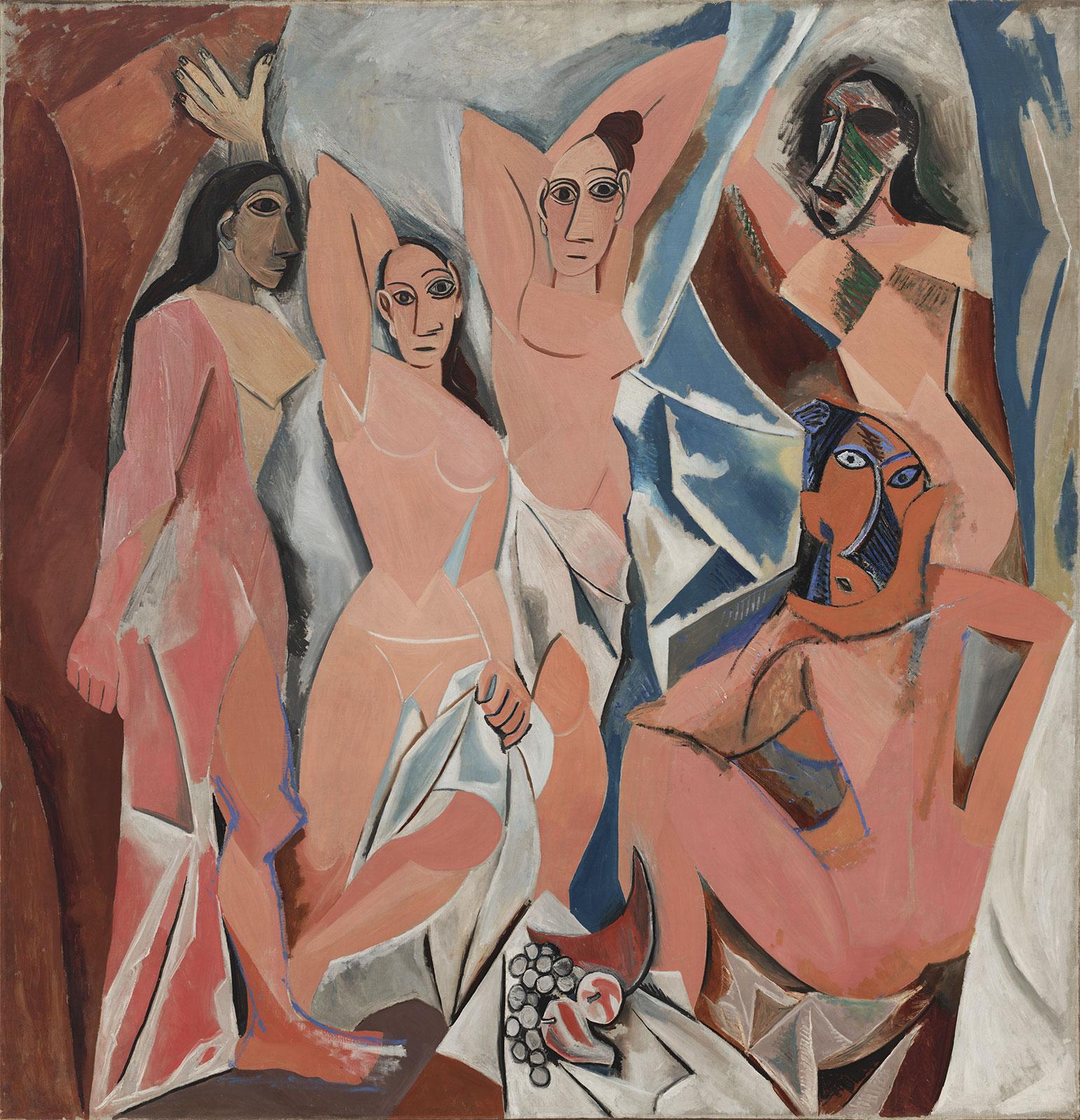 «Авиньонские девицы» Пабло Пикассо (1907)