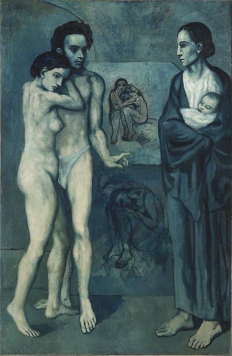 Пабло Пикассо «Жизнь» 1903г. USA, Cleveland, Museum of Art