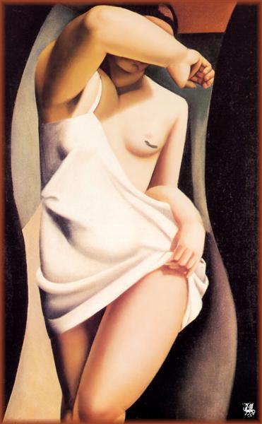 Модель Тамара Лемпицка Оригинальное название: Le Modele 1925 г.
