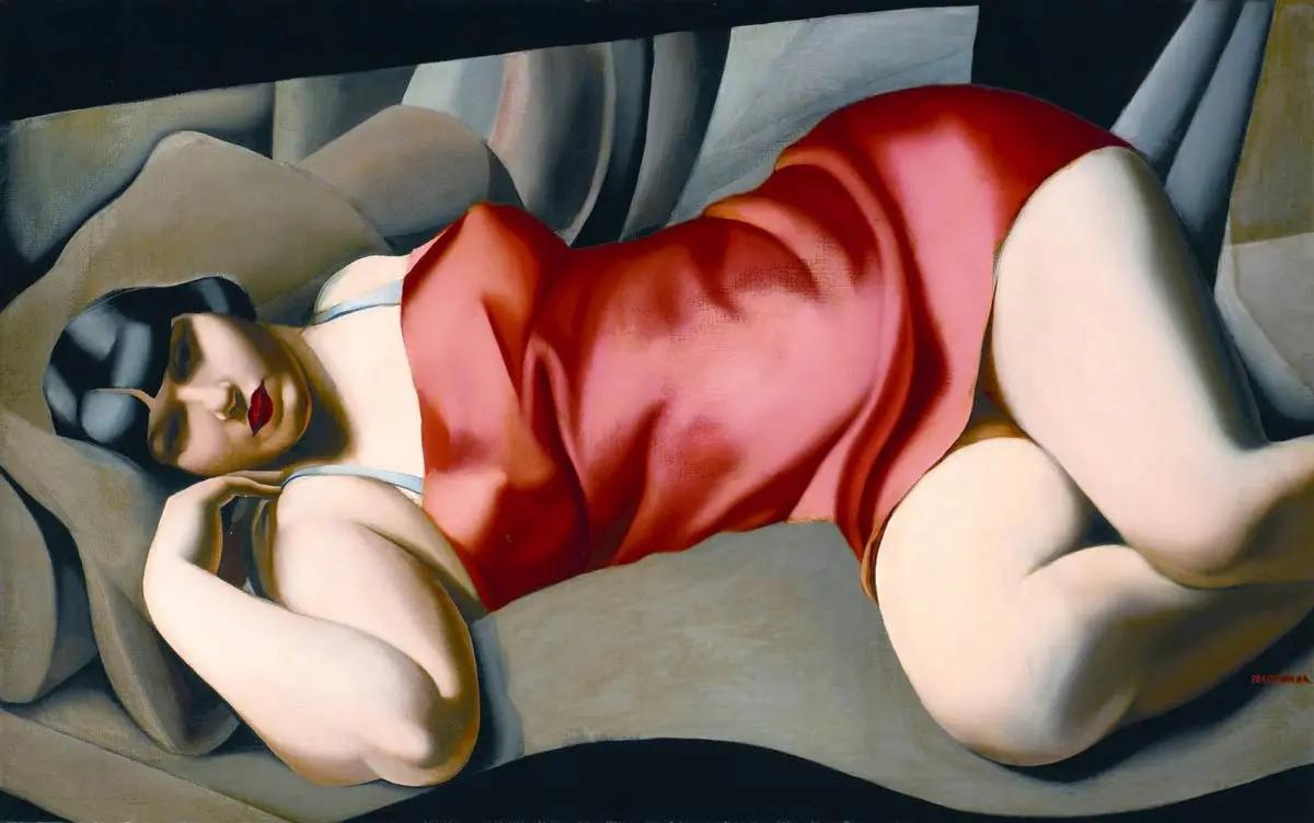 Розовая туникаТамара Лемпицка1927, 73×116 см