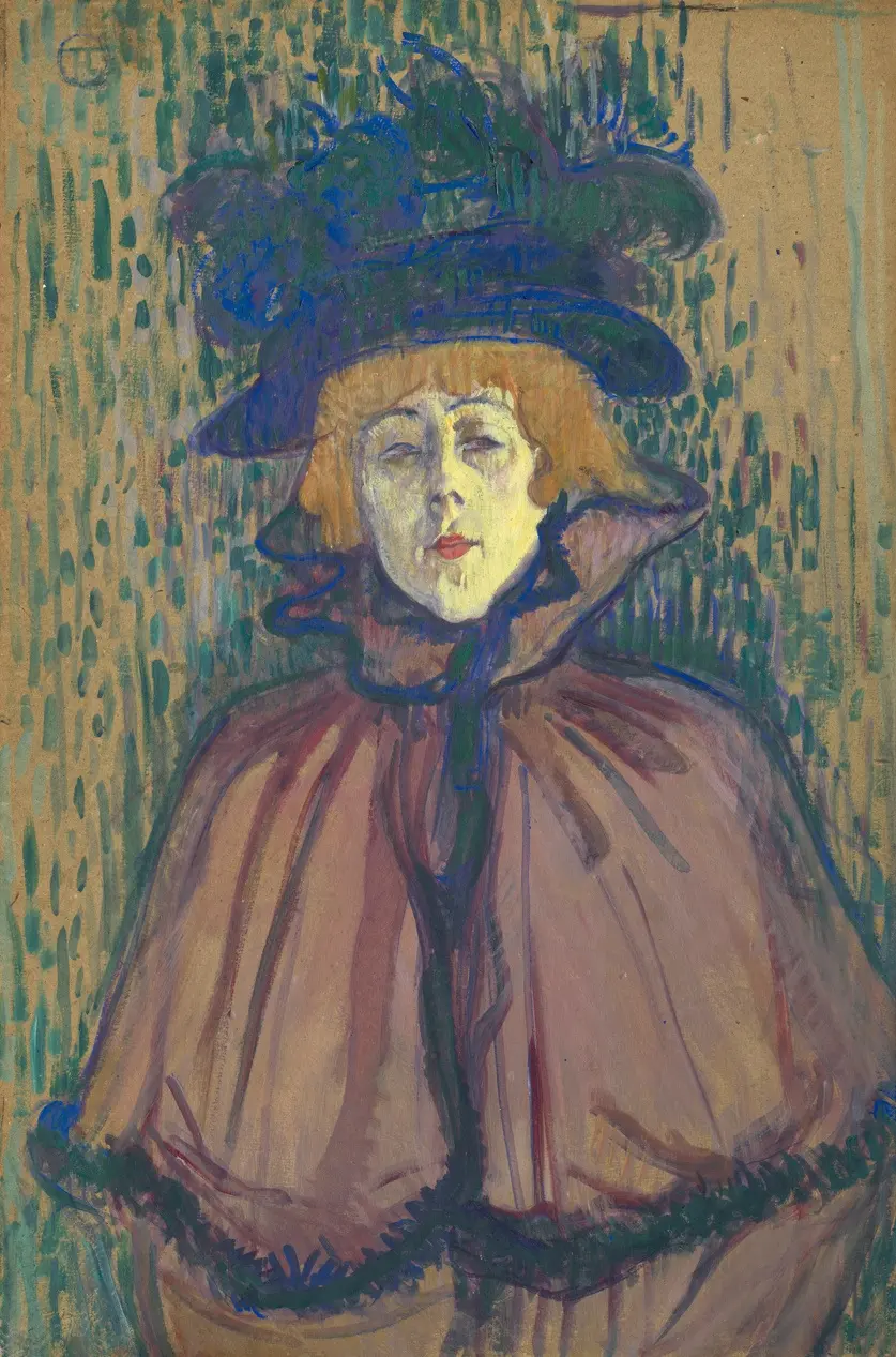 Джейн Аврил Анри де Тулуз-Лотрек Живопись, 1892, 63.2 × 42.2 см