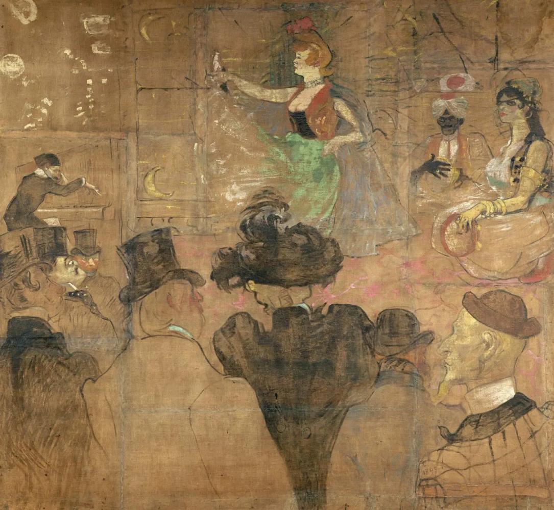 Мавританский танец Анри де Тулуз-Лотрек Живопись, 1895, 285 × 307.5 см