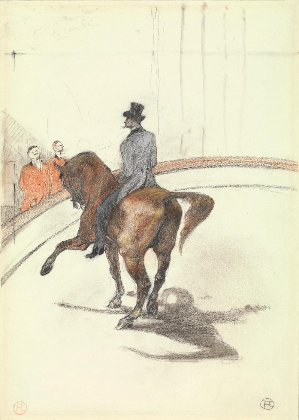 В цирке. Испанская прогулка Анри де Тулуз-Лотрек Графика, 1899 г.