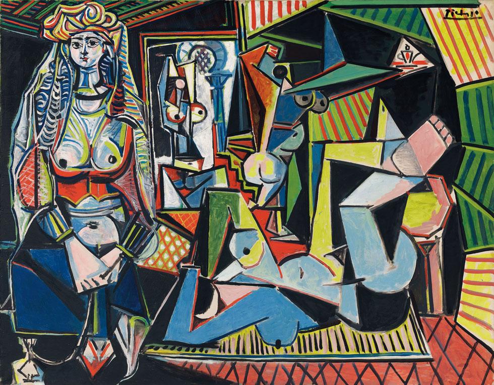 Картина Пабло Пикассо «Алжирские женщины, версия О (15)» 1955 год