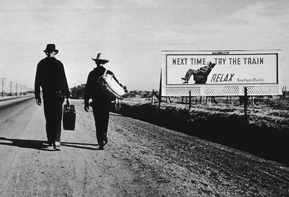 «К Лос-Анджелесу» (1937), Доротея Ланж