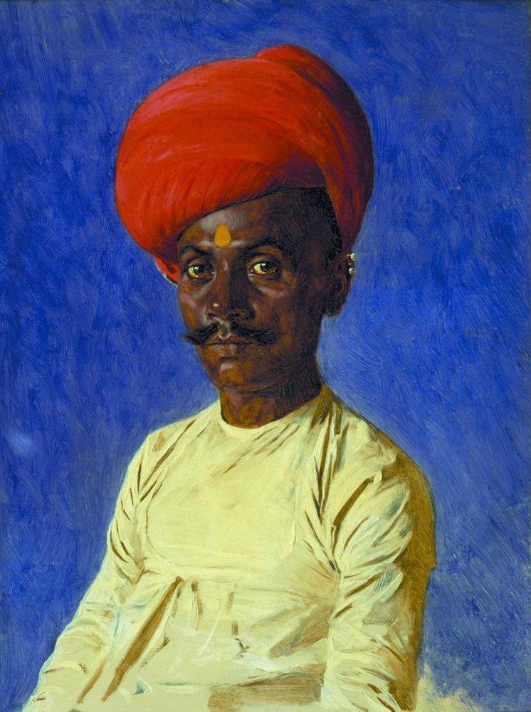 Василий Верещагин / Vasily VereshaginБания (торговец). Бомбей. 1874-1876