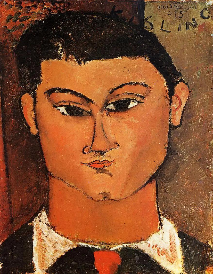 Портрет Моиса Кислинга Амедео Модильяни, 1915, 37×29 см