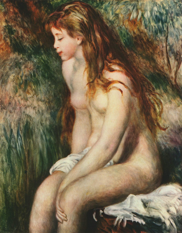 Пьера Огюста Ренуара «Jeune Baigneuse» (Молодая купальщица), 1892