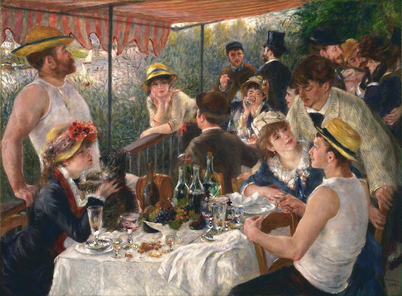 Огюст Ренуар «Завтрак гребцов», 1880-1881