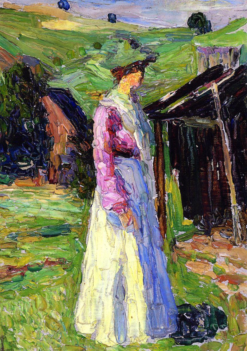 Кёльн. «Габриэле Мунтер» Василий Кандинский (1902)