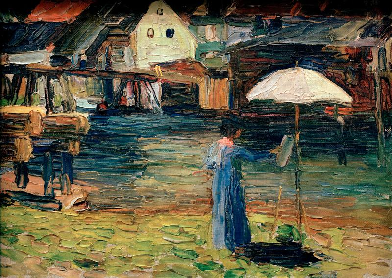 """Габриэле Мунтер"" Василий Кандинский (1903), 23,7 × 32,7 см"