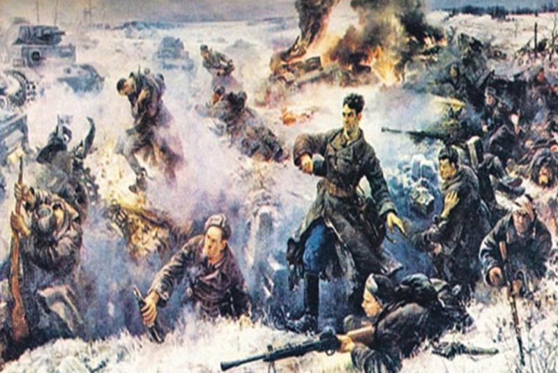 Великая Отечественная война 1941 – 1945 на марках