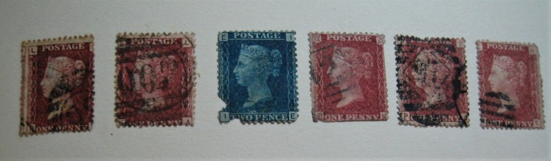 1854-1855  Two Penny Blue (Queen Victoria), Two Penny Blue (Queen Victoria)