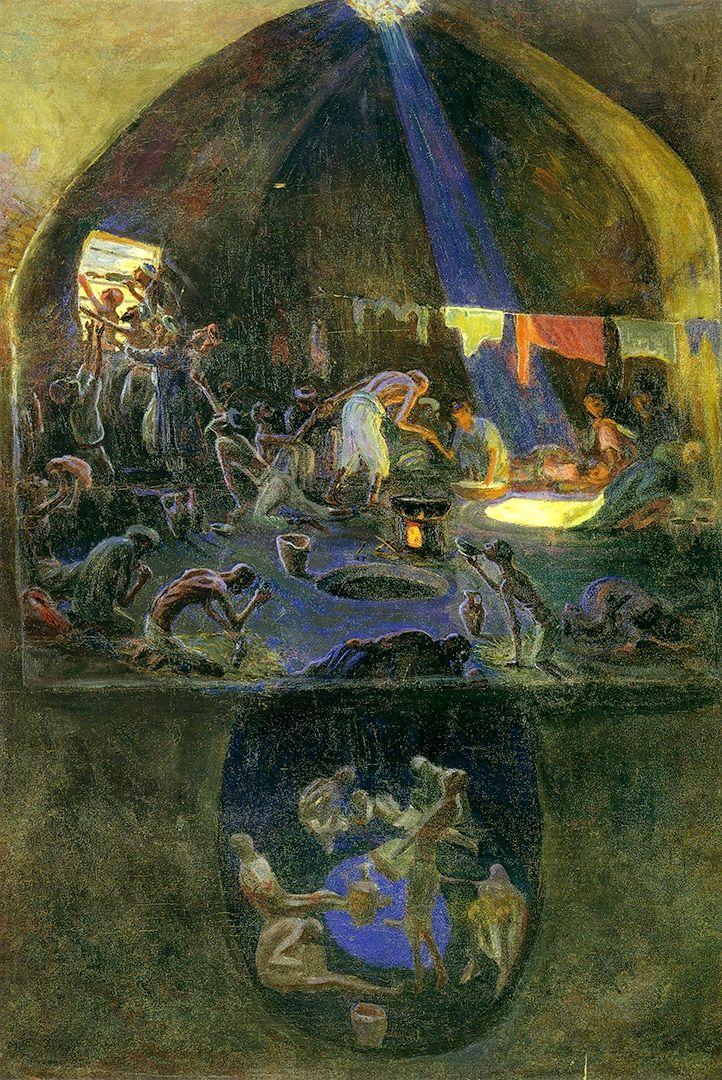 Лев Бурэ. Зиндан, 1930-е