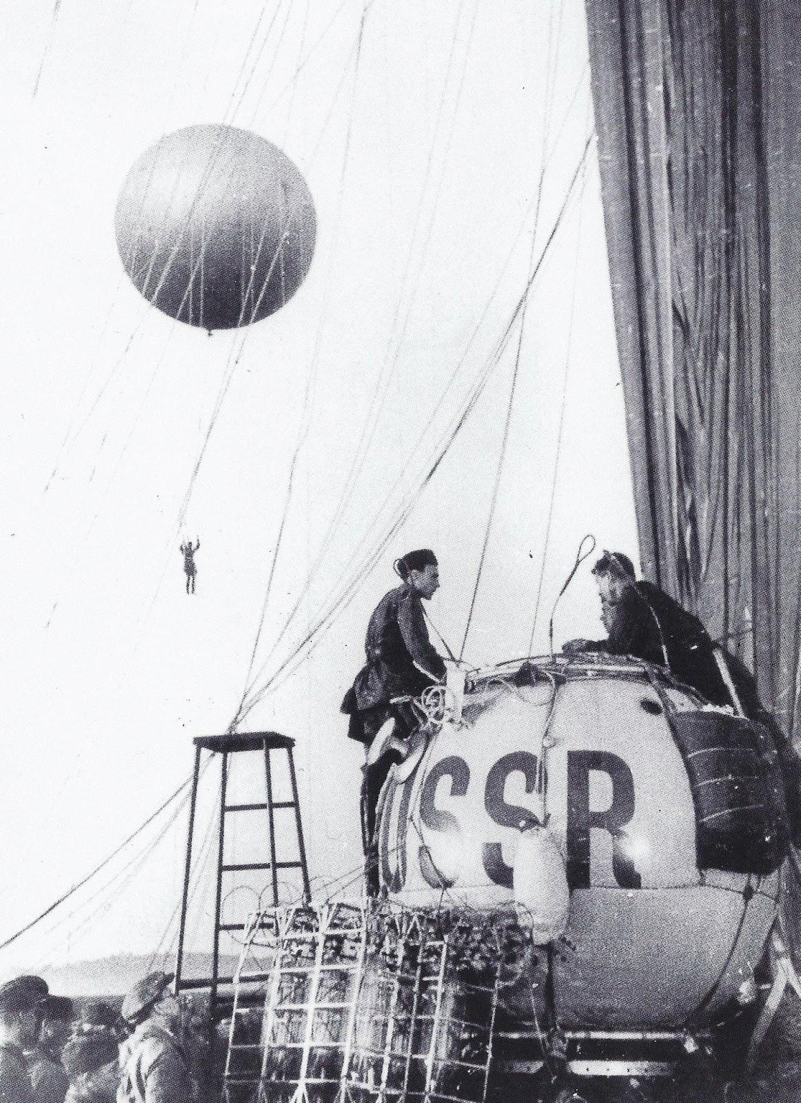 Покорители стратосферы предшественники космонавтов