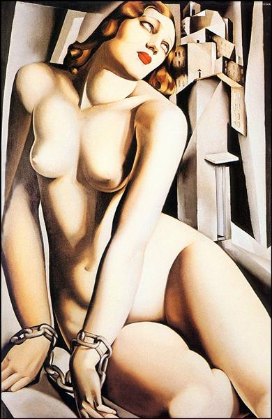 Тамара де Лемпицка «Андромеда» 1929 год.