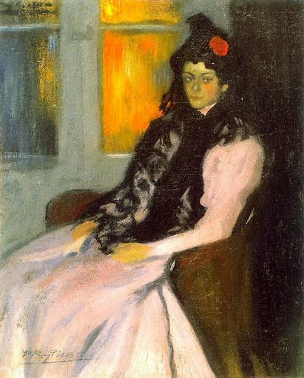 Лола Пикассо, сестра художника 1899 год