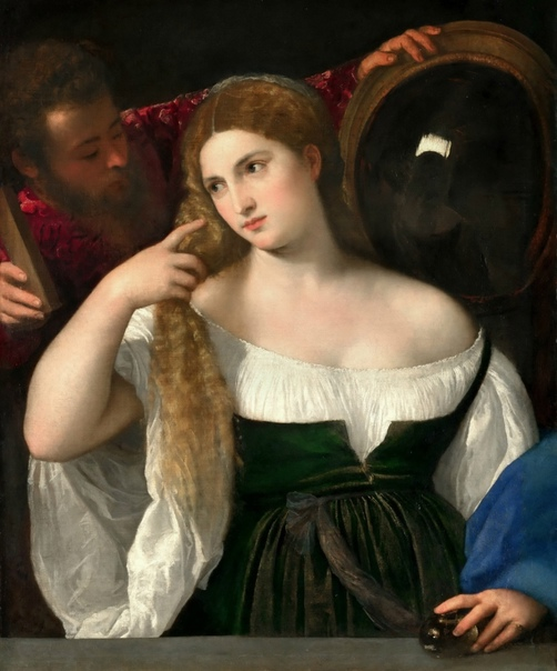 Три картины Тициана — «Женщина перед зеркалом» в музеях Мира