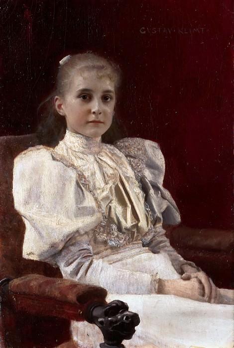 Густава Климт Девушка в кресле