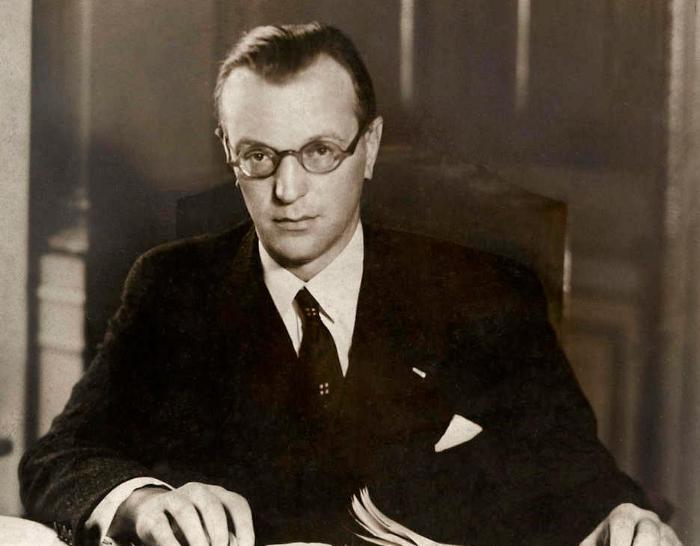 Артур Зейсс-Инкварт министр внутренних дел в 1940 году.